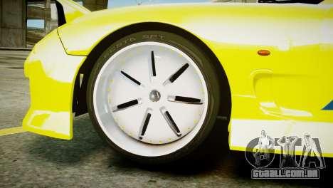 Mazda RX-7 FD3S BN Sports para GTA 4 traseira esquerda vista