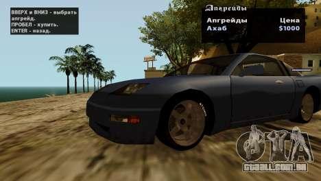 Rodas de GTA 5 v2 para GTA San Andreas décima primeira imagem de tela