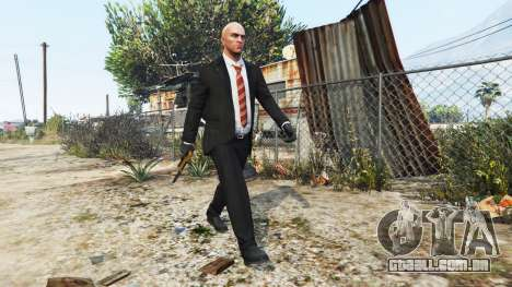 GTA 5 Hitman - Agente 47 segundo screenshot