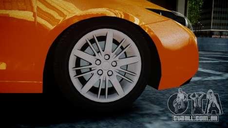 Renault Laguna Coupe para GTA 4 traseira esquerda vista
