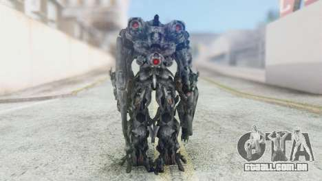 Shockwave Skin from Transformers v2 para GTA San Andreas terceira tela