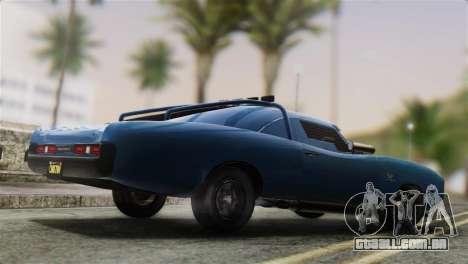 GTA 5 Imponte Dukes ODeath para GTA San Andreas esquerda vista