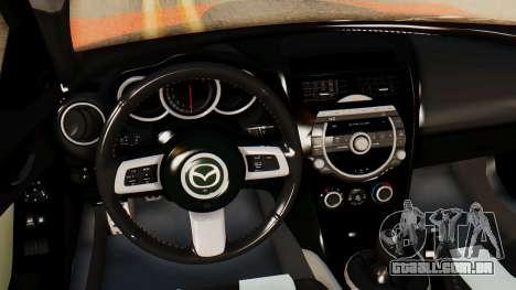 Mazda RX8 Drifter para GTA San Andreas vista direita
