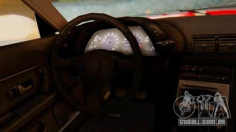 Nissan Skyline R32 Monster para GTA San Andreas vista direita