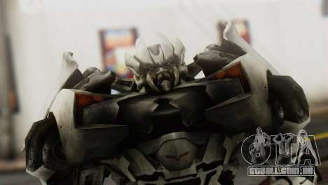 Sideswipe Skin from Transformers v1 para GTA San Andreas