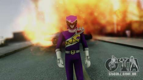 Power Rangers Skin 6 para GTA San Andreas