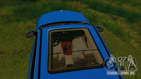 BMW X5 F15 2014 para GTA San Andreas vista superior