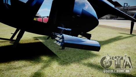 Buzzard from GTA 5 para GTA 4 vista direita