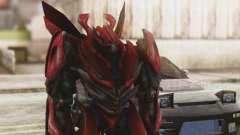 Dino Mirage Skin from Transformers para GTA San Andreas