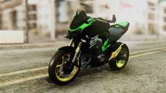 Kawasaki Z800 Modified para GTA San Andreas