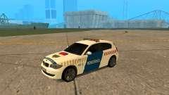 BMW 120i E87 Polícia húngara