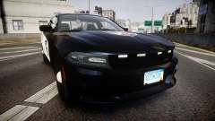 Dodge Charger SXT AWD 2015 PPV [ELS] para GTA 4
