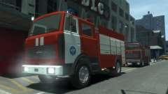 MAZ 533702 de EMERCOM da Rússia