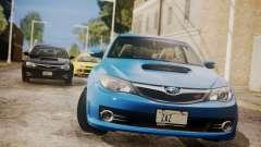 Subaru Impreza WRX STI 2008 PJ para GTA San Andreas