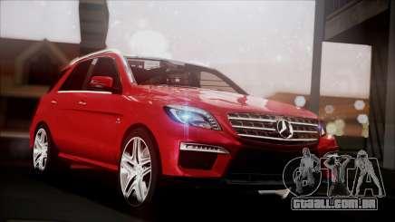 Mercedes-Benz ML 63 AMG 2014 para GTA San Andreas