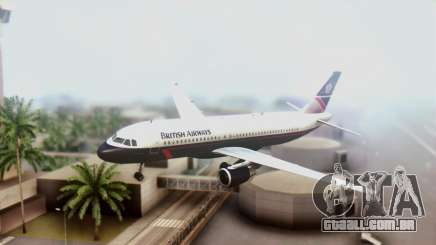 Airbus A320-200 British Airways para GTA San Andreas