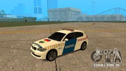 BMW 120i E87 Polícia húngara para GTA San Andreas