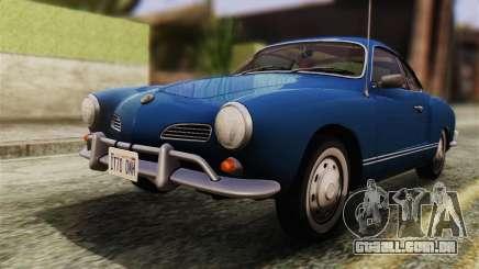 Volkswagen Karmann-Ghia Coupe (Typ 14) 1955 HQLM para GTA San Andreas