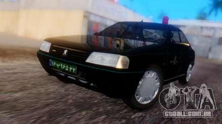 Peugeot 405 GLX Police para GTA San Andreas