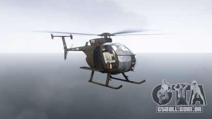 MH-6 Little Bird para GTA 4