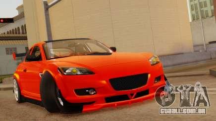 Mazda RX8 Drifter para GTA San Andreas