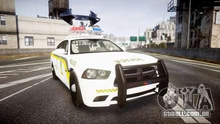 Dodge Charger Surete Du Quebec [ELS] para GTA 4