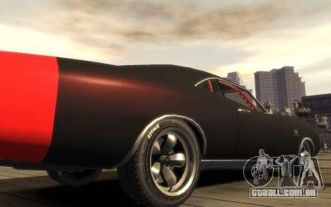 Dukes Impulse Daytona Tuning para GTA 4 vista de volta