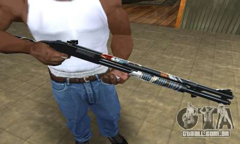 Sportive Shotgun para GTA San Andreas