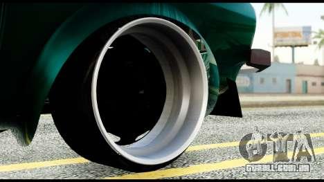 Dacia 1310 Carrera para GTA San Andreas vista traseira