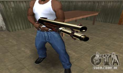 Very Big Shotgun para GTA San Andreas segunda tela