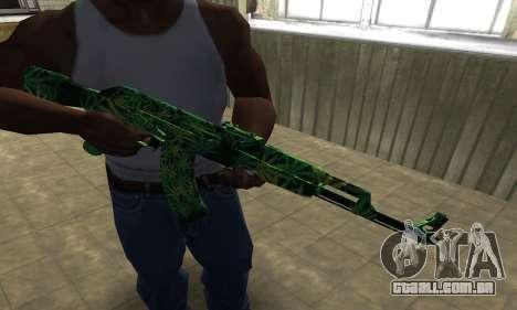 Ganja АК-47 para GTA San Andreas