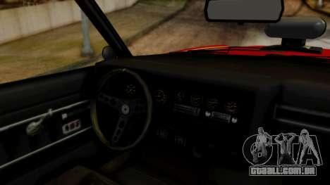 GTA 5 Albany Virgo para GTA San Andreas vista traseira