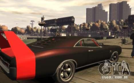 Dukes Impulse Daytona Tuning para GTA 4 traseira esquerda vista