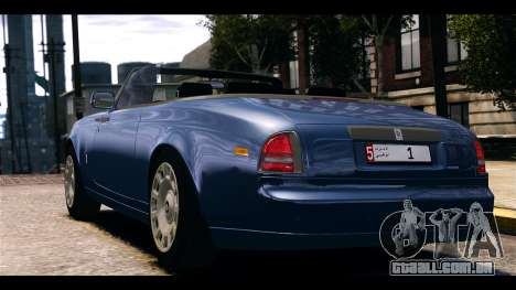 Rolls-Royce Phantom 2013 Coupe v1.0 para GTA 4 esquerda vista