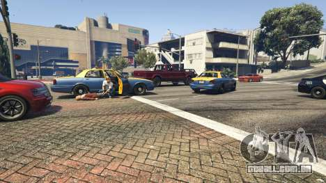 GTA 5 Police Chase Random Event terceiro screenshot