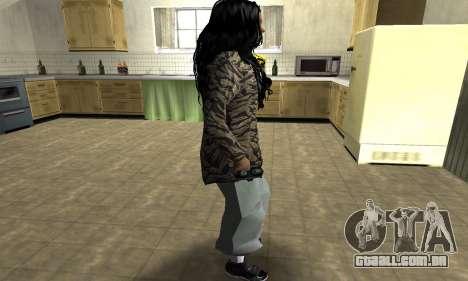 Cool Tokio Girl para GTA San Andreas segunda tela