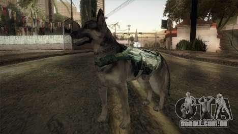 COD Ghosts - Riley Skin para GTA San Andreas segunda tela