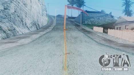 Red Dead Redemption Scythe para GTA San Andreas segunda tela