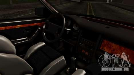 Audi 200 Quattro para GTA San Andreas vista direita