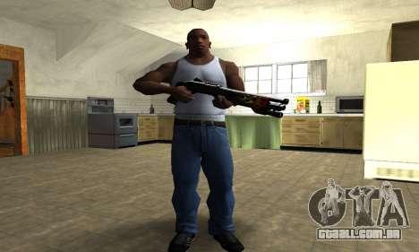 Flame Shotgun para GTA San Andreas terceira tela