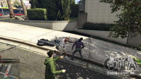 GTA 5 AngryPeds segundo screenshot
