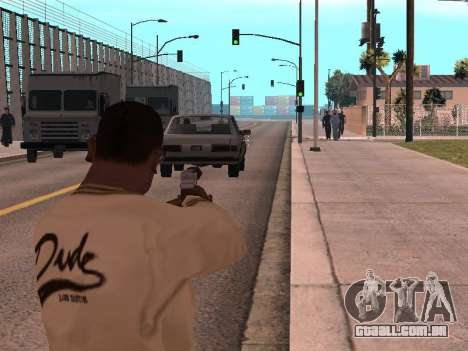 Cleo Weapon Zoom para GTA San Andreas segunda tela