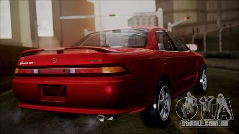 Toyota Mark II X90 para GTA San Andreas esquerda vista