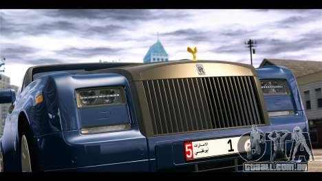 Rolls-Royce Phantom 2013 Coupe v1.0 para GTA 4 vista de volta