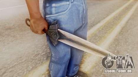 Dragon Dagger para GTA San Andreas segunda tela