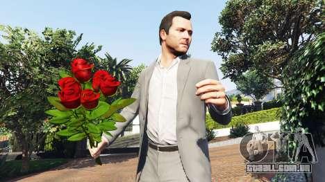GTA 5 Um buquê de rosas segundo screenshot