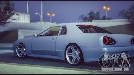 Elegy Lumus para GTA San Andreas esquerda vista