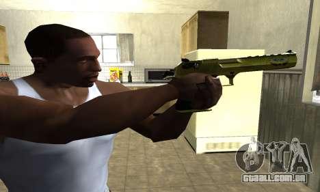 Sponge Bob Deagle para GTA San Andreas segunda tela