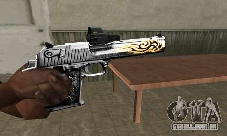 Flame Deagle para GTA San Andreas