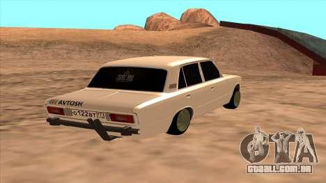 CAÇADOR 2106 Ostentum para GTA San Andreas esquerda vista